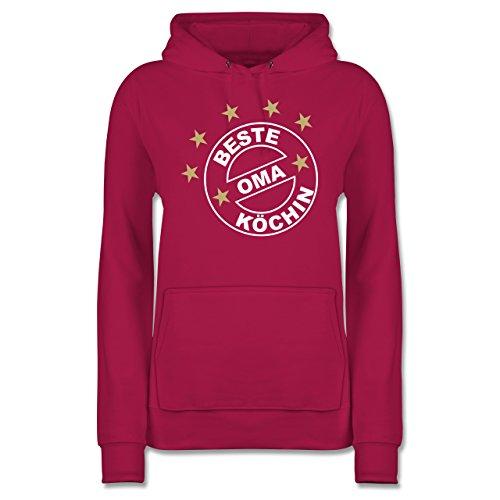 kuche-beste-kochin-oma-xxl-fuchsia-jh001f-damen-premium-kapuzenpullover-hoodie