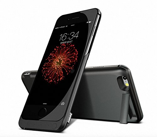 5.500mAh Zusatzakku Power Case Batterie Power Bank Extern Akku Hülle für iPhone 7, iPhone 6, iPhone 6s 4.7
