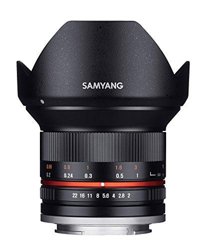 Samyang Objectif pour Sony E 12 mm F2 NCS CS Noir