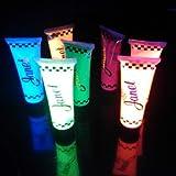 Creme UV fluorescents - BLEU - Pour corps et cheveux - idéal pour vos soirées