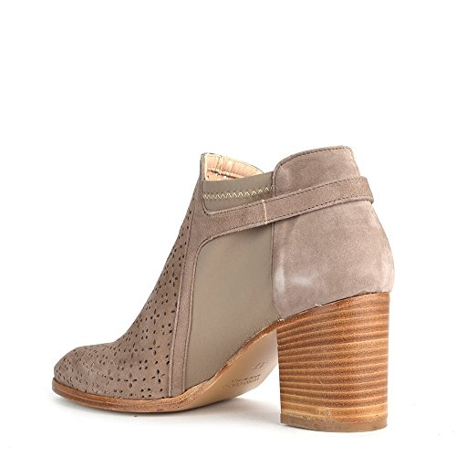 Elia B Chaussures Urban High Taupe Boots Femme Taupe
