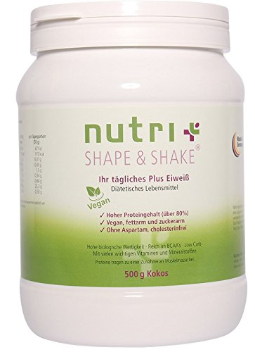 nutri-plus-shape-shake-vegan-kokosnuss-500g-veganes-proteinpulver-ohne-aspartam-laktose-milcheiweiss
