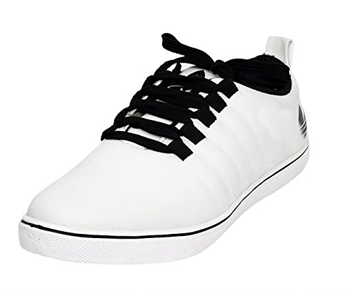 Red Rose Men's casual Shoes (6, White)  available at amazon for Rs.149