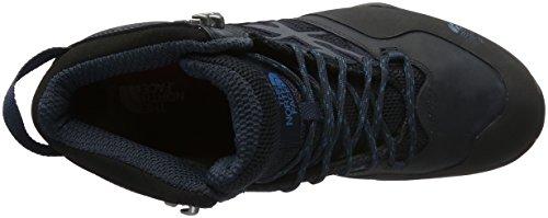 The North Face M Hedgehog Hike Mid Gtx, Sneakers basses homme Gris (Phantom Grey/blue)