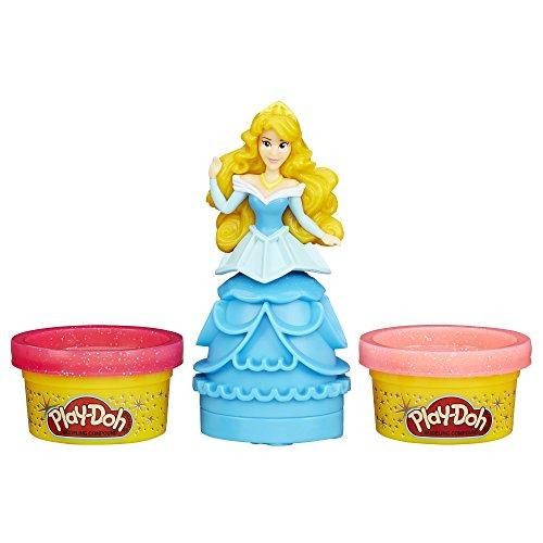 h Figur mit Disney Prinzessin Aurora (Knete Prinzessin)