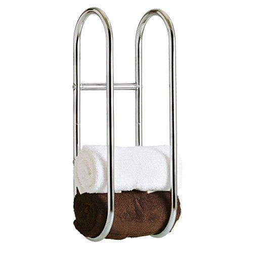 Taylor & Braun Chrom Wand montiert Handtuchhalter