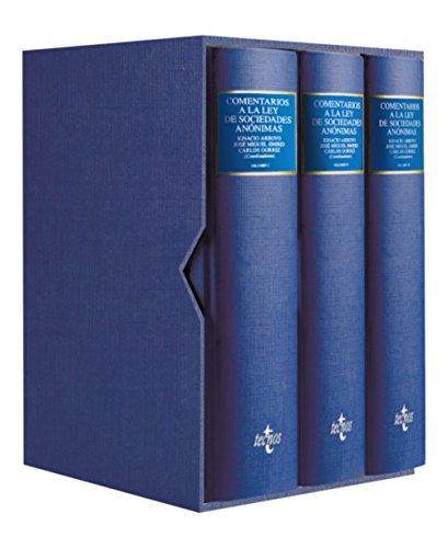 Comentarios a la Ley de Sociedades Anónimas: Real Decreto Legislativo 1564/1989, de 22 de diciembre (Derecho - Comentarios Jurídicos)