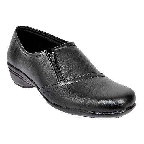 Altek Black Synthetic Formal Shoe For Women (Size : 37 Euro, 7 Ind/Uk) Model: ALTEK_13_303