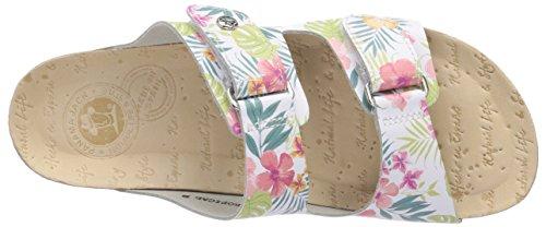 Panama Jack Bahamas Tropical B1 Damen Sandalen Weiß (White)