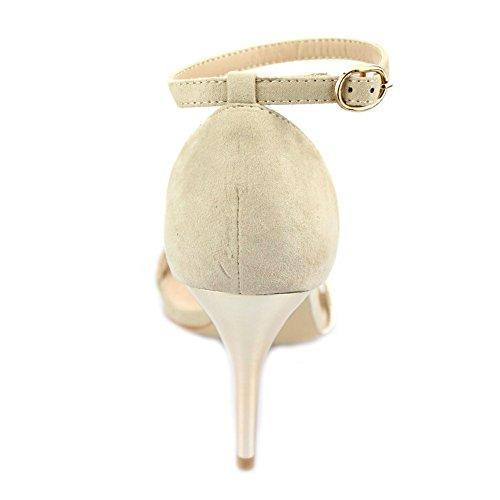 Aarz Femmes Mesdames Soirée Party Prom Casual High Heel Sandal Chaussures Taille (Noir , Beige ) Beige