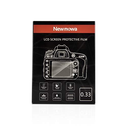 Newmowa Displayschutzfolien für Fujifilm X-A3 X-A5 X-A10 X-T1 X-T2 und Panasonic Lumix DC-GH5, 9H Härte Kratzfest Gehärtetem Glas Displayschutzfolie für Digital Camera