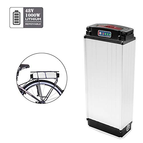 X-go Fahrradakku E-Bike Batterie 48V 20Ah Pedelec Akku mit Ladegerät für e Bike 1000 watt