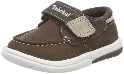 Timberland Unisex Baby Toddle Tracks Slipper, Braun (Promo Brown Naturebuck D40), 22 EU