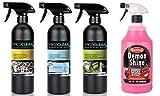 Wicoclean - Detergente Multiuso per cruscotto, per la Cura della Cabina di pilotaggio e lucidatura a spruzzo CarPlan Demon Shine