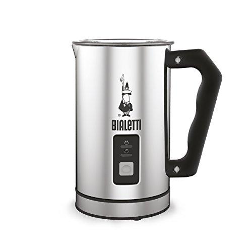 Bialetti 4430 Mousseur à lait automatique argent Acier Inoxydable Argent 50 x...