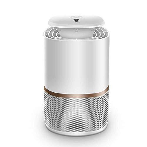 LHZHG Moskitofalle Elektrisch, USB Insektenlampe, Photokatalysator-Moskito-Mörder, Moskito-Falle Für Schlafzimmer Büro Innen - Ungiftig, Keine Strahlung UV Mückenlampe (Color : White)