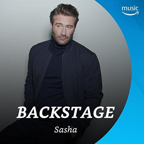 Backstage mit Sasha