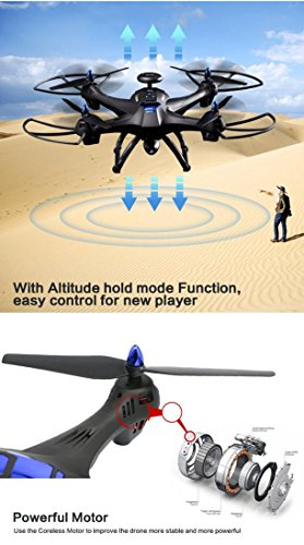 WYXlink 2017 Global Drone 6-axes X183 With 2MP WiFi FPV HD Camera GPS Brushless Quadcopter - 8