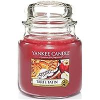 Yankee Candle 1332244E - Vela en vaso, aroma a Tarta de manzana francés