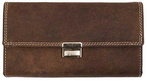 bellebay-unisex-geldborse-waiters-wallet-high-quality-leather-long-wallet-dk-braun