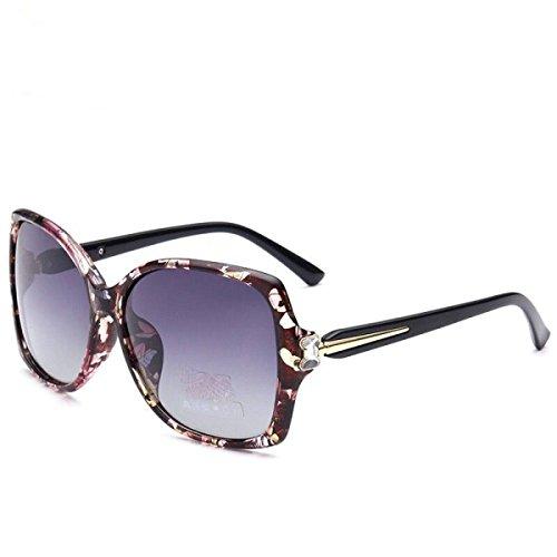 418d97afd9 wkaijc Leopard verdes Dame Luz polarizzata Gafas de sol Gafas de sol de  clase personalizadas ergonómico