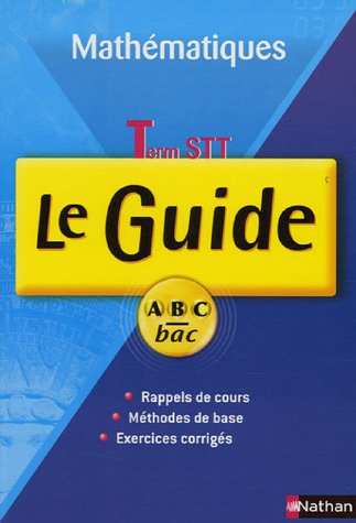 Mathématiques Tle STT