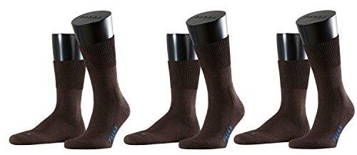 Preisvergleich Produktbild FALKE Sport Spirit Unisex Socken Run 3er Pack, 37 / 38;Farbe:Dark Brown (5450)