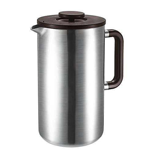Tchibo Kaffeebereiter / Siebstempelkanne / Cafetière / Caffettiera / French Press aus Edelstahl
