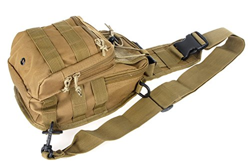 SaySure - Outdoor Sport Camping Hiking Trekking sling Bag Military Tactical Shoulder Bag - GMN-BG-SPT-000483 Prada Sling