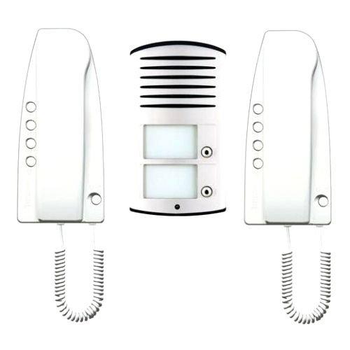 kit audio bifamiliare con posto esterno LINEA 2000 e posti interni PIVOT 363221