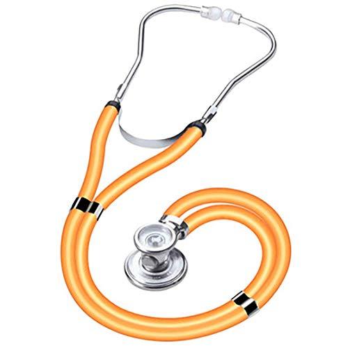 BD.Y Estetoscopio de Doble Cabeza de cardiología clásica Acero Inoxidable para médico Enfermera Veterinario...