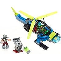 Tortugas Ninja - Helicóptero, 31 x 25 cm (Mega Bloks ...