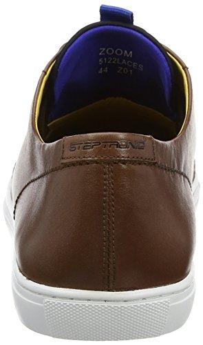 Steptronics Herren Zoom Sneakers Braun