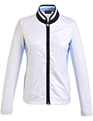 golfino Mujer golfino multifunción de Stretch Chaqueta polarlight, primavera/verano, color Optic White, tamaño 34 (XS)