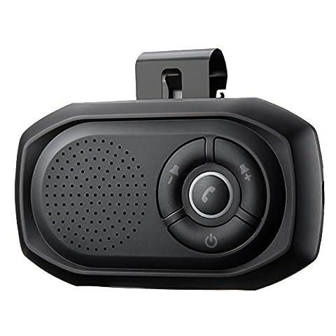 Mpow Bluetooth Freisprecheinrichtung für auto kfz, Bluetooth Wireless Car Kit,handsfree kits für iphone,Samsung,Huawei,Nokia,HTC,Sony Smartphone Geräte, telefon iOS Siri, sicheres Fahren