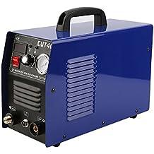 Homgrace Professionale DC Saldatrice Inverter, 220V 10-40A Saldatrice Elettrico Tagliatrice al Plasma Aria con Display Digitale, Ideale per Piccole Fabbriche o Uso Domestico