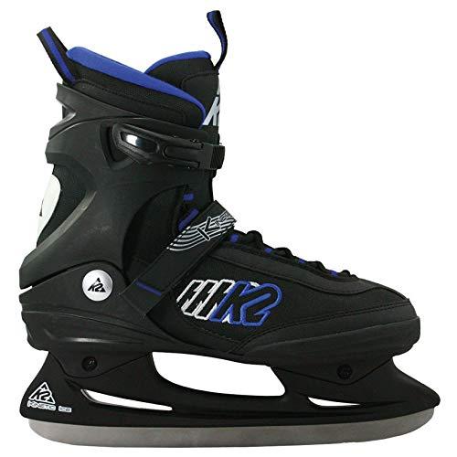 K2 Herren Fitness Schlitt-/Eishockey-/Eislaufschuhe Kinetic Ice M, schwarz-blau, 36.5 EU (4 UK), 2530703.1.1.050