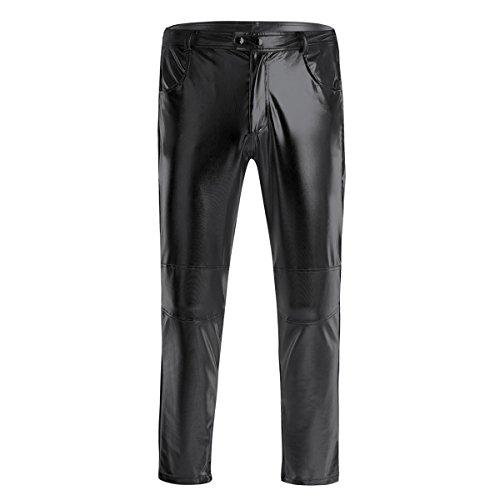 Disco Dude Für Erwachsene Herren Kostüm - iiniim Herren-Jeans, schmale Passform, gerades Bein,