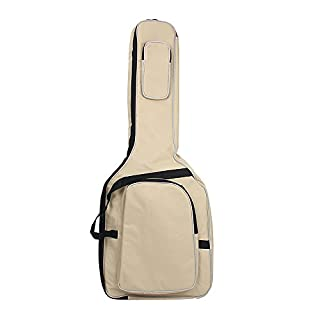 Thick Foam Guitar Gig Bag Cover Soft Case Padded Double Straps For 41