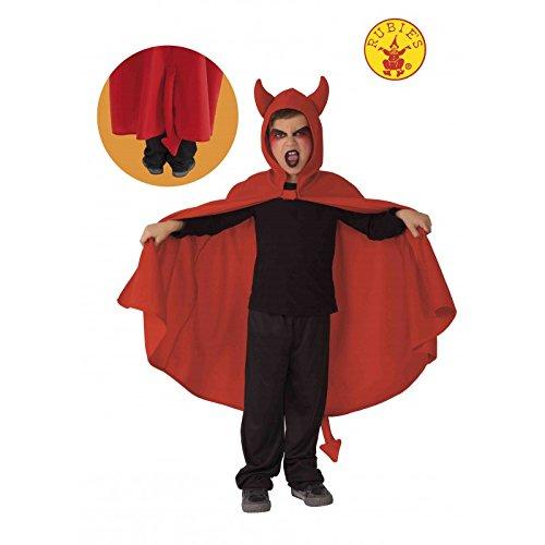 Rubie's Rubies-S5204-Cape für Kinder-Kleiner Teufel-Effekt - Kleiner Teufel Kostüm Kinder
