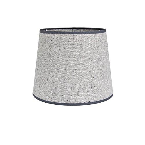 Oxford Lifestyle Lampenschirm, rund, Grau -