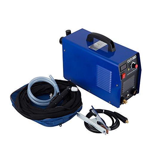 BananaB Plasmaschneider 50 Amp schneidet bis 12 mm Plasma CUT Inverter Schweißgerät Plasma Ausschnitt Maschine Plasmaschneider Cutting Cutter 220V (50A)