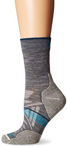 Womens Phd Outdoor Light (Smartwool Women's PhD Outdoor Light Mid Crew Socks (Medium Gray) Medium)