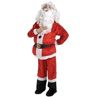 El Rey del Carnaval Disfraz de Papá Noel Lujo Infantil