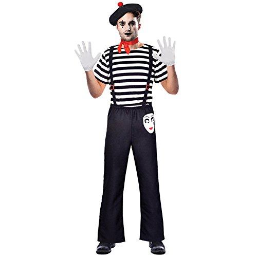 Herr Pantomime - Clown Pantomime Zirkus Kostüm Herren Amscan