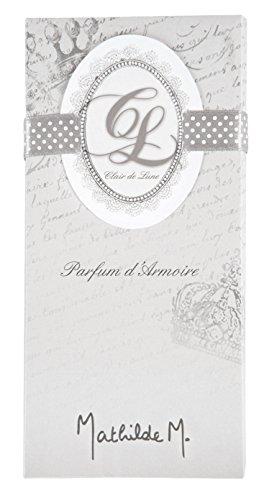 Home Ambiente Parfüm (Mathilde M.–Scented Keramik–Parfüm Home Duft, Tablet–Clair de Lune)