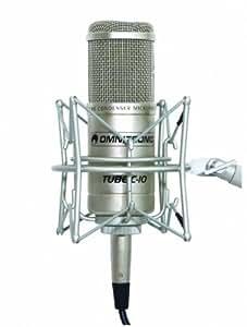 Micro électrostatique à tube Omnitronic C-10-Microphones