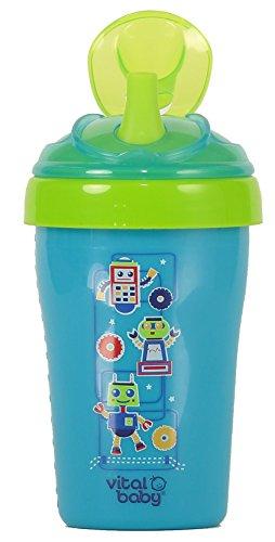 Stroh Tasse (blau) (Stroh Tassen Für Kleinkinder)