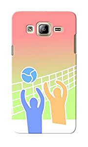 KnapCase Volley Ball Designer 3D Printed Case Cover For Samsung Galaxy On5