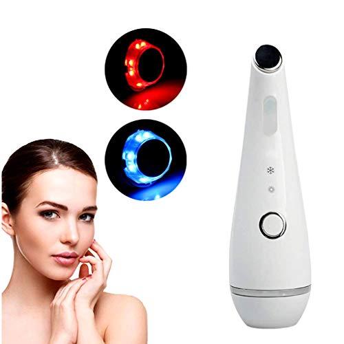 AMINSHAP Gesichtsmassage-Tool Tragbares Elektrisches Ultraschall-Ionen-Gesichtsmassagegerät Tiefes Sauberes Heißes Und Kaltes Schönheitsinstrument Poren Verkleinern Iontophorese, Heiße Abkühlung